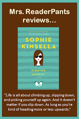 In my library, I had filed this under the Romance/Chick Lit genre, mainly because of the description and because Sophie Kinsella's books are generally Chick Lit. But I am moving it to Realistic Fiction instead. The mental illness and Audrey's family are the story here...