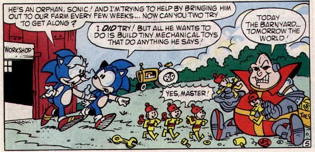 Hedgehogs Can't Swim: Sonic the Hedgehog (Original Mini