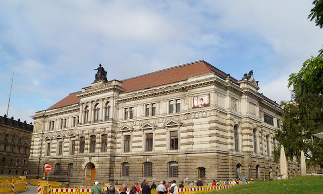 Museu Albertinum em Dresden