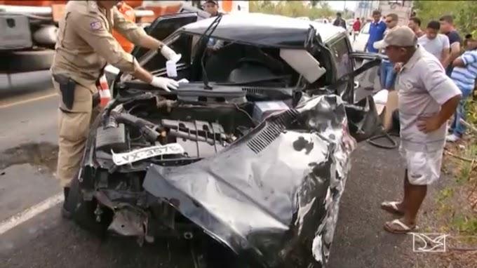 CAXIAS: Acidente deixa uma pessoa morta na BR-316, no Maranhão