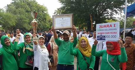 Batu Gadang Juara I Kelurahan Bersih dan Hijau Tingkat Kota Padang