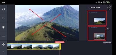 Cara Edit Video Efek Zoom di Kinemaster Android