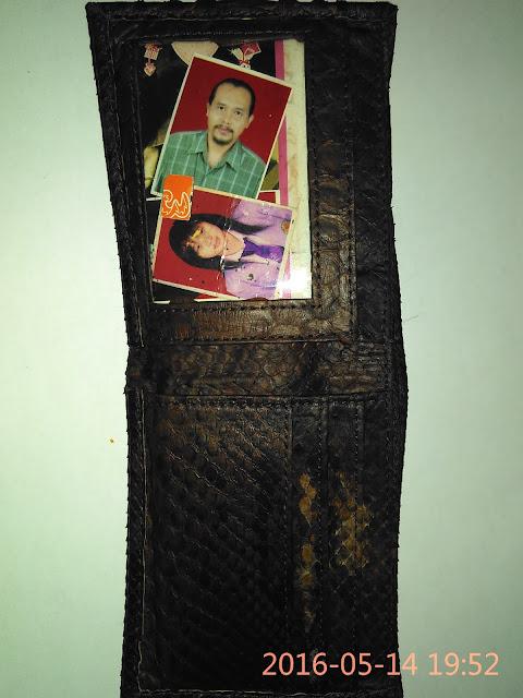 Bentuk dompet yang ditemukan