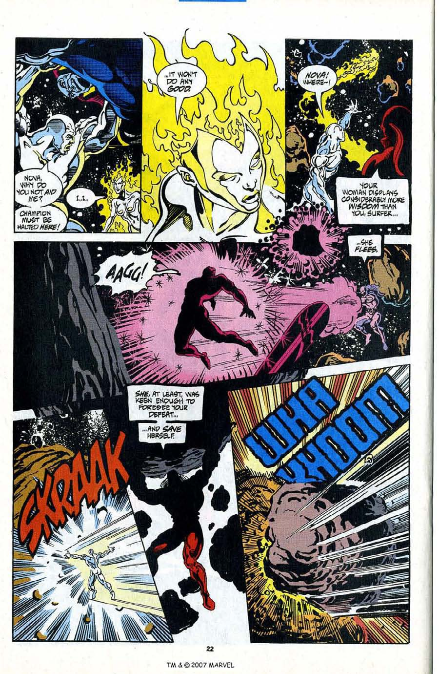 Read online Silver Surfer (1987) comic -  Issue #98 - 24