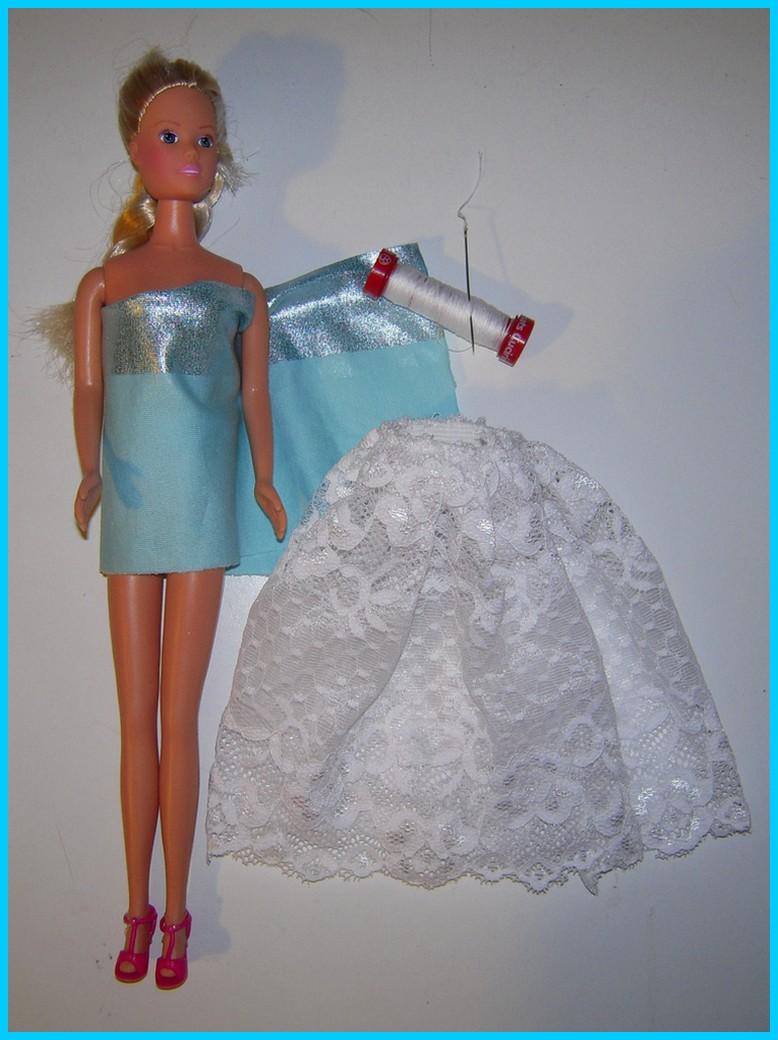 Eccezionale Mamma Claudia e le avventure del Topastro: Nuvole e abito per Barbie CR84