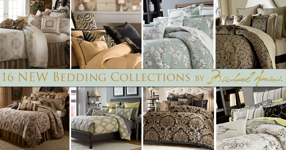 Luxury Bedding Sets by Michael Amini
