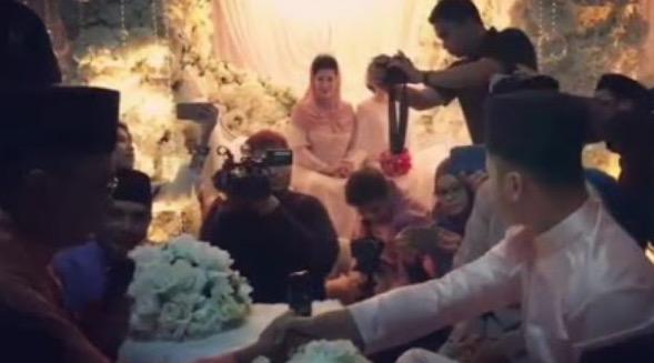 Gambar Sekitar Majlis Perkahwinan Hafiz Suip Dan Nureffy