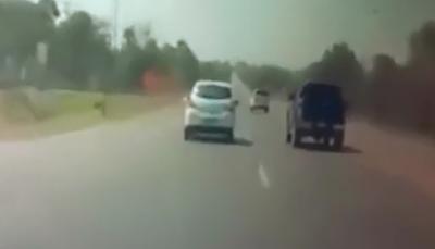 Furia de Carretera que Sale Mal