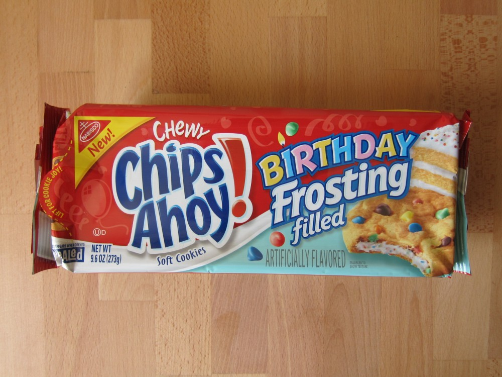 Cool Review Nabisco Birthday Frosting Filled Chips Ahoy Cookies Funny Birthday Cards Online Fluifree Goldxyz