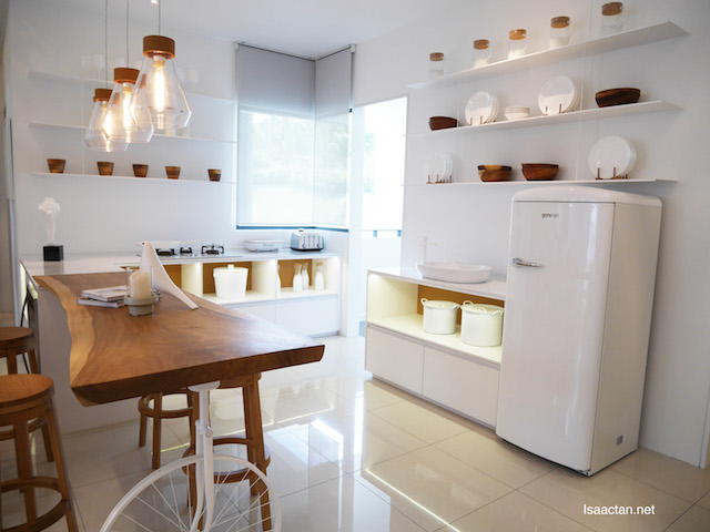 Ample space in the kitchen to cook your favourite meal