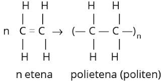 pembentukan polietilena