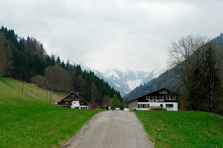 Unterwegs im Trettachtal von Oberstdorf