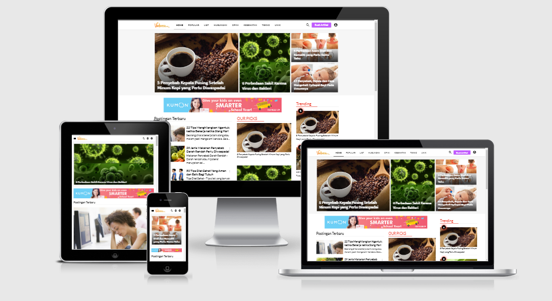 Vebma Blogger Template Free And Premium