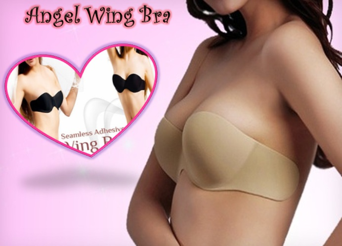 c67ab3b4d2 Angel Wing bra and Seamless V bra- Strapless backless ultralite adhesive bra
