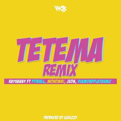Download Audio | Rayvanny Ft. Pitbull, Mohombi, Jeon & Diamond Platnumz - Tetema Remix