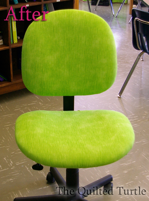 The Quilted Turtle: Classroom Redo: Chair