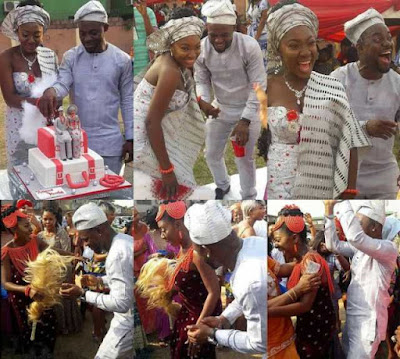 See Lovely Photos From Yvonne Jegede's Wedding To Abounce