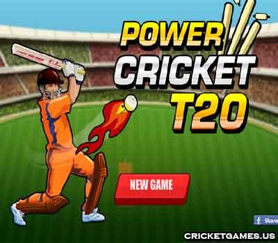 Online Power Cricket T20 Game