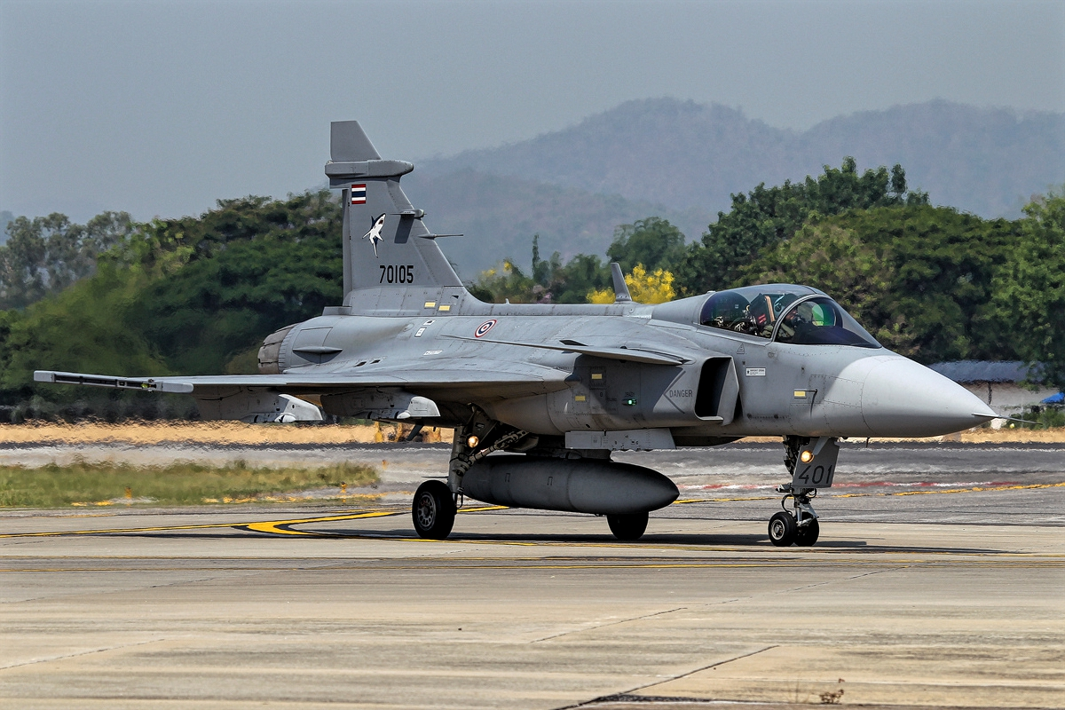 JAS-39 Gripen of Royal Thai Air Force