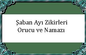 saban ayi oruc namaz