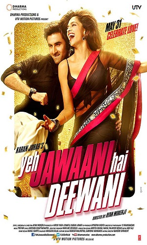 Yeh Jawaani Hai Deewani (2013) 1GB Full Hindi Movie Download 720p Bluray