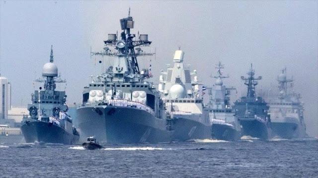"""Armada rusa equipa sus buques con sistema que """"ciega"""" al enemigo"""
