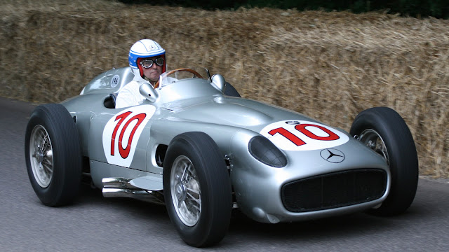 Mercedes-Benz W196 1950s classic GP racing car