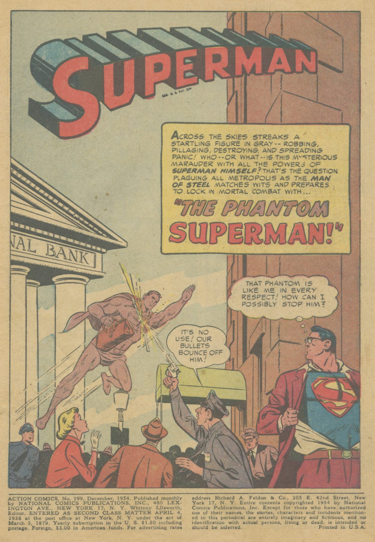 Read online Action Comics (1938) comic -  Issue #199 - 4
