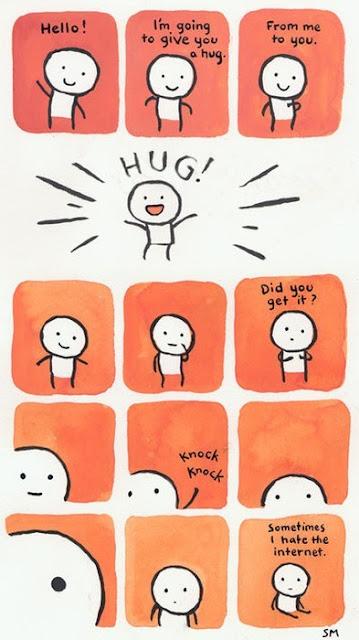 huginternet - I Hug My Computer Because Of You