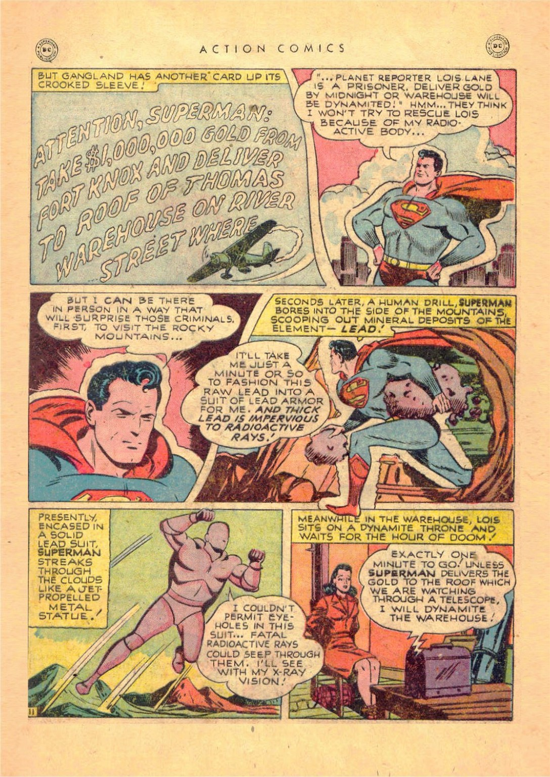 Read online Action Comics (1938) comic -  Issue #124 - 13