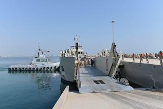 """بمشاركة القوات البحرينية.. سلاح البحرية يجري استعداداته لتمرين """"جسر 19"""""""