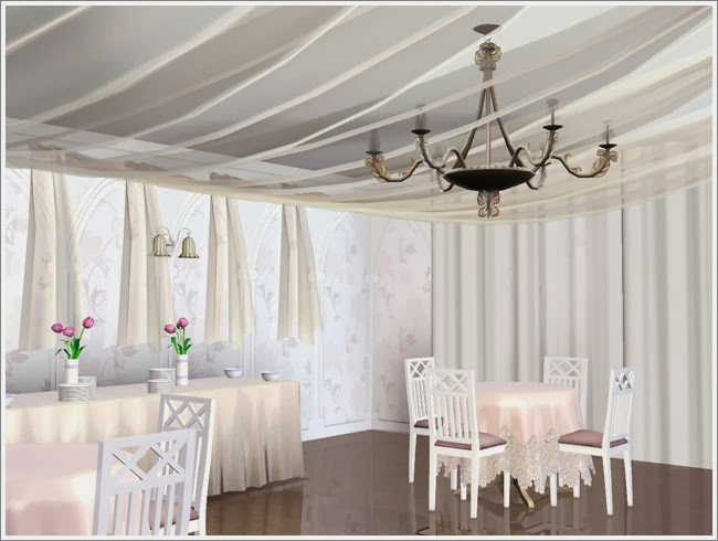 My Sims 3 Blog: Ceiling Hanging Curtains by Severinka