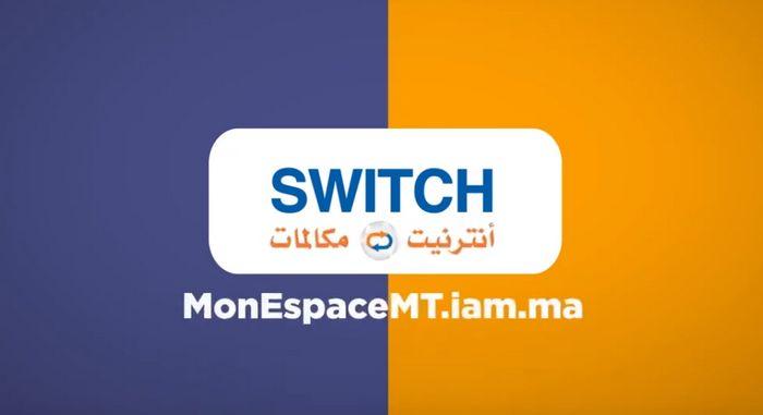 convertir appels internet iam switch