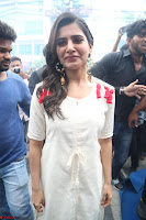 Samantha Ruth Prabhu Smiling Beauty in White Dress Launches VCare Clinic 15 June 2017 100.JPG