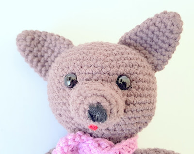 crochet wolf