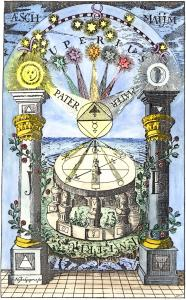 Sun and Moon Equal Divine Balanced Opposites Sun-moon-pillar