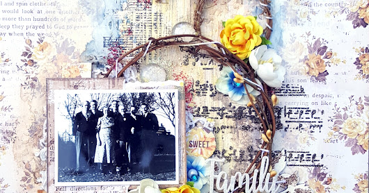 """Family"" Layout - More Than Words Challenge"