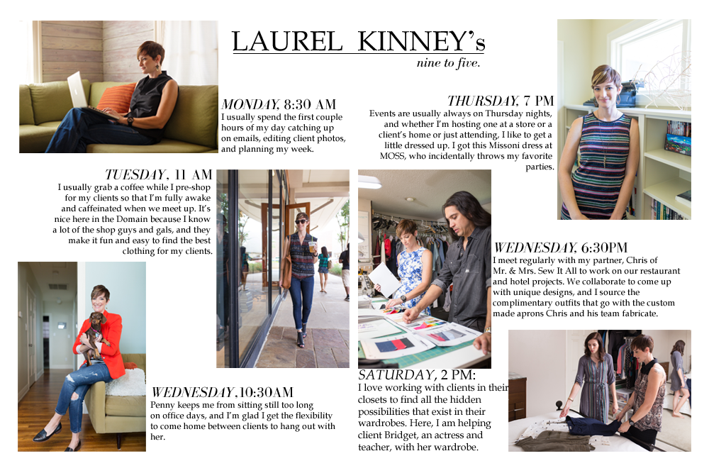 professional style, laurel kinney, austin style, austin fashion blog, wardrobe personal stylist, photography, workwear, 9 to 5 chic, career advice, interview, streestyle, outfit, wear to work