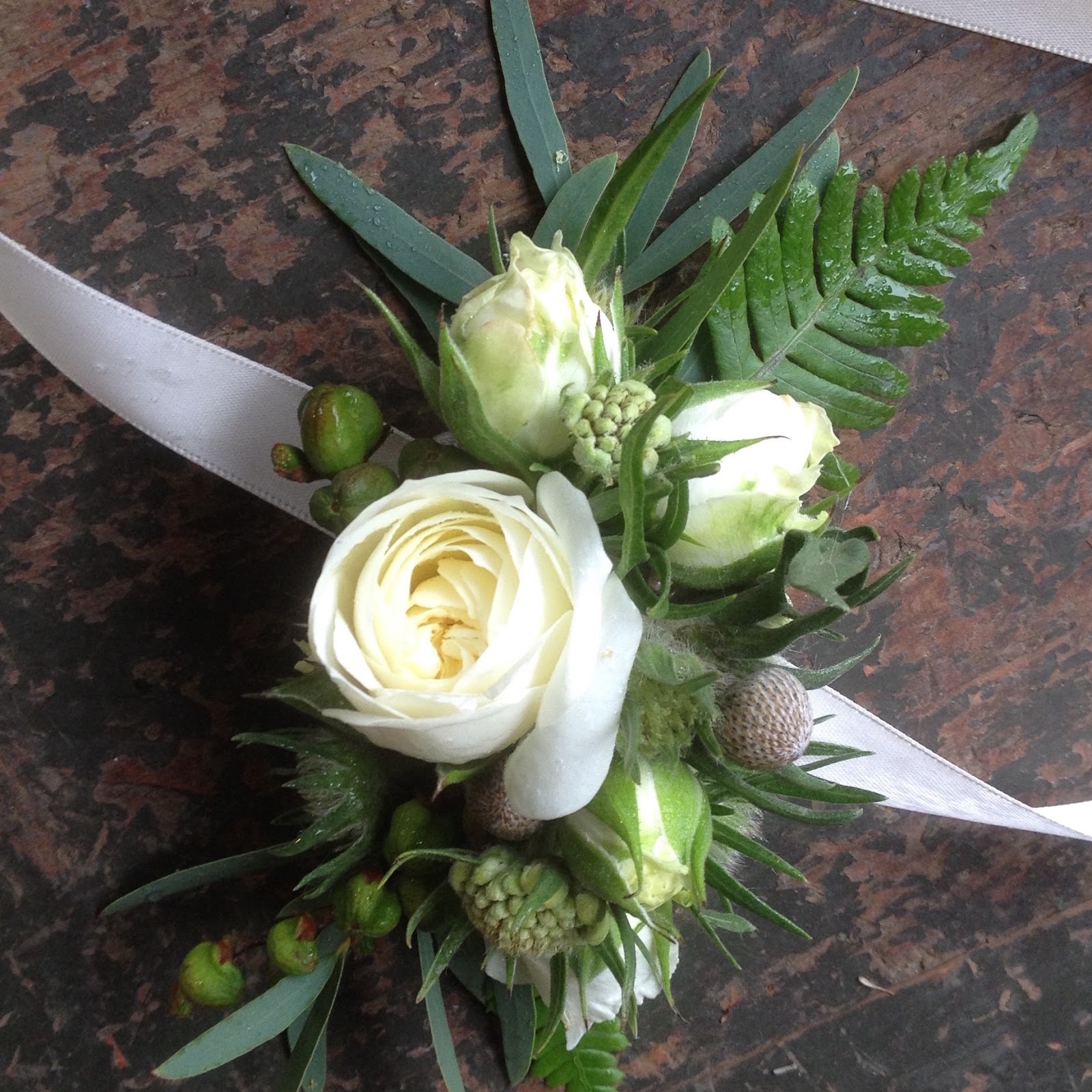 Sammys Flowers Textured Corsages