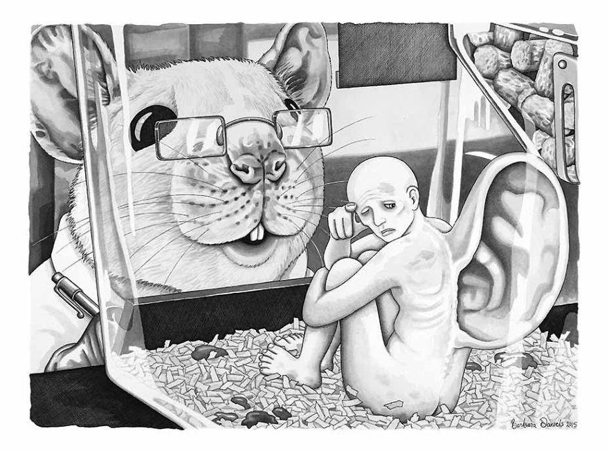 Barbra Daniels Lets Into His Extraordinary Art Of Parallel Universe