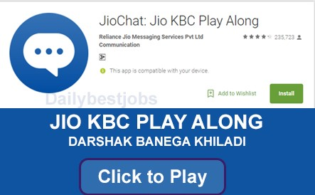 KBC Play Along Jio Chat Download