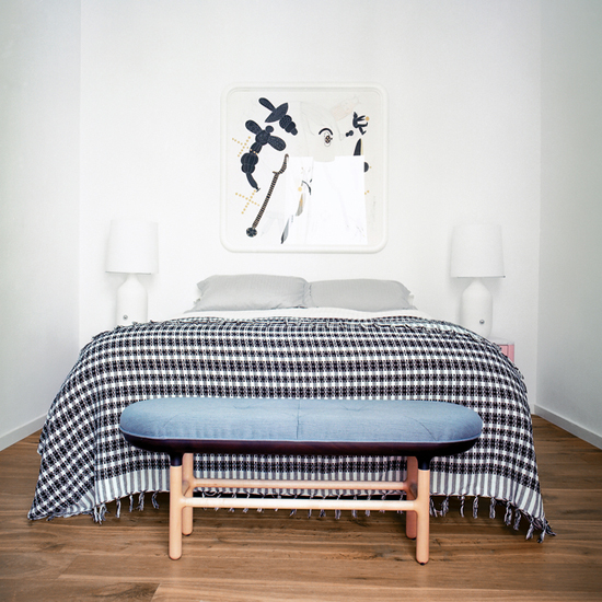Easy going bedrooms with scandinavian design influences. See more at www.myparadissi.com