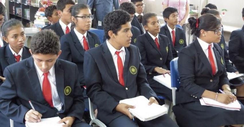 Más de 1,000 escolares de Lambayeque buscan ingresar al COAR - MINEDU