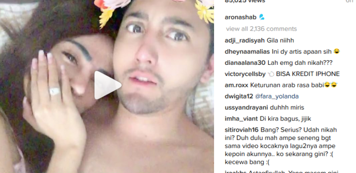 Aron Ashab Unggah Video Mesum dan Hina Habib Rizieq, Netizen: Muka