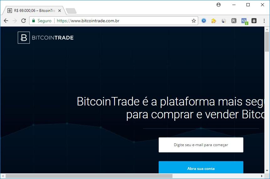 BitcoinTrade - Criptomoedas su App Store