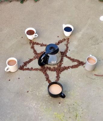 Müdigkeit bekämpfen - lustige Kaffee Bilder