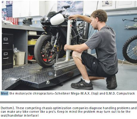 Motorcycle classes : Chassis Tuning