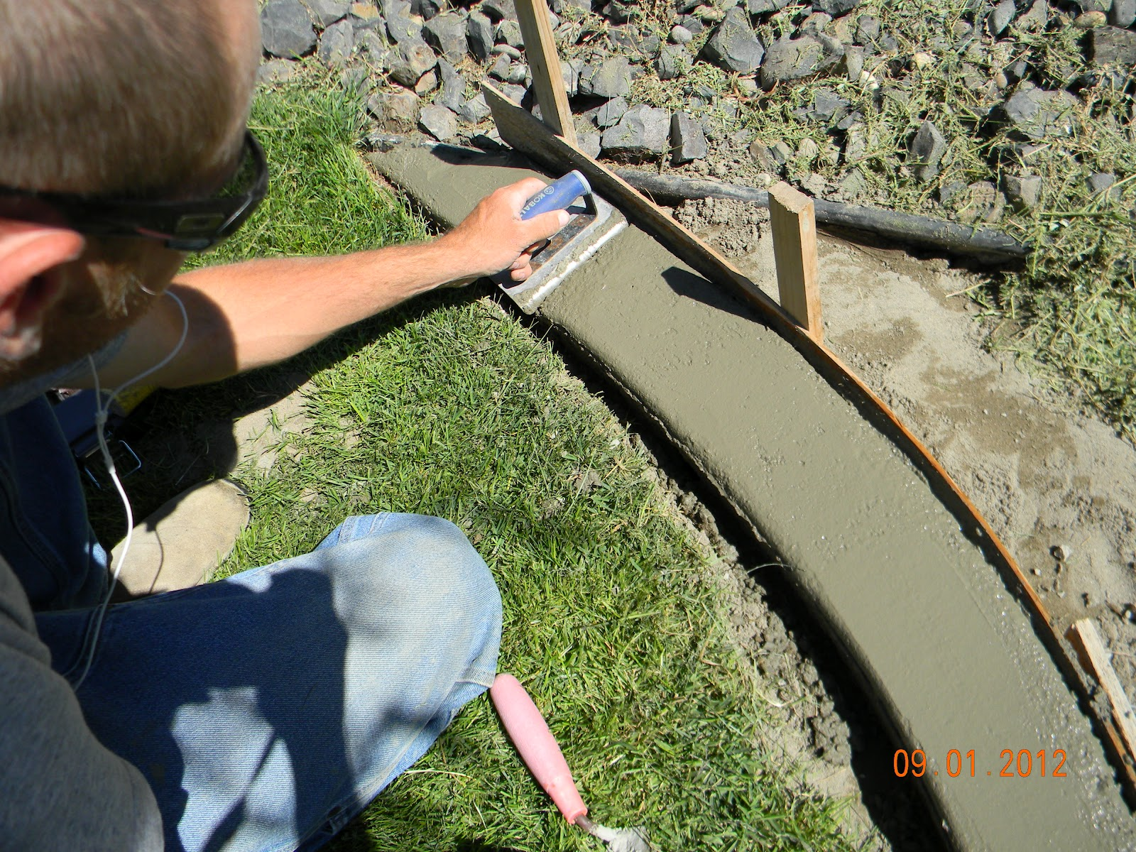 Building Garden Border