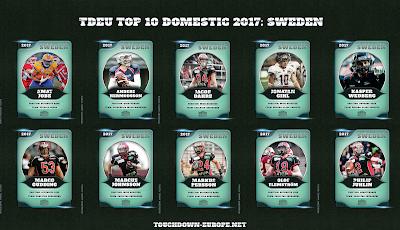 TDEU Top 10 Domestic 2017: SWEDEN