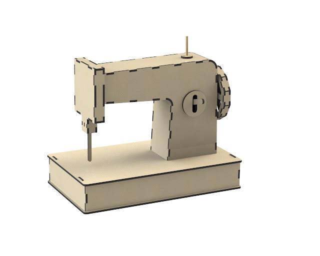 Sewing Machine Laser Cut